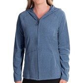 White Sierra Alpha Beta Hooded Jacket (For Women)