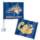 Wincraft Montana State Univeristy Bobcat Car Flag