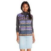 Women's Andes Printed Fleece Vest
