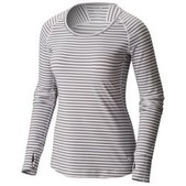 Women's Butterlicious Stripe Long Sleeve Crew Shirt