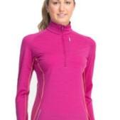 Women's Dart Long Sleeve Half Zip