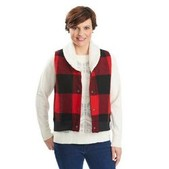 Women's Giant Buffalo Wool Vest