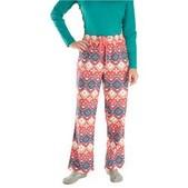 Women's Park Flannel Printed Pant