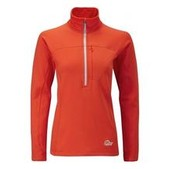 Womens Powerstretch Zip Neck