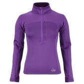 Womens Powerstretch Zip Top