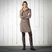 Women's Shadowstripe Sweater Dress