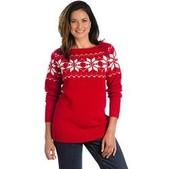 Women's Vintage Snow Wool Sweater