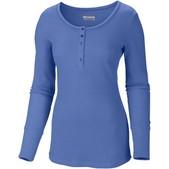 Women's Weekday Waffle II Henley Long Sleeve Shirt