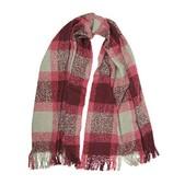Woolrich Boucle Plaid Wrap