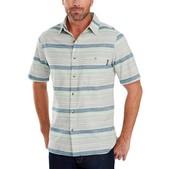 Woolrich Lost Lake Chambray Stripe Shirt - Men's