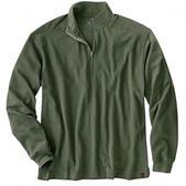 Woolrich Mens Territory 1/4 Zip (OLIVE, M)