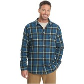 Woolrich Oxbow Bend Plaid Flannel Shirt for Men
