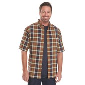 Woolrich Timberline Madras Plaid Mens Shirt