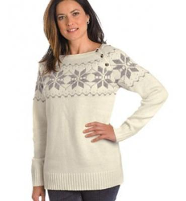 Woolrich Vintage Snow Sweater - Women's