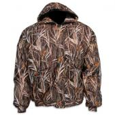 World  Famous Warp Waterfowl Insulated Tricot Hooded Jacket (BURLY WATERFOWL CAMO, M)