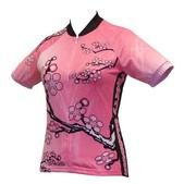 World Jerseys Women's Cherry Blossom Cycling Jersey