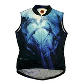 World Jerseys Women's Dolphin Sleeveless Cycling Jersey