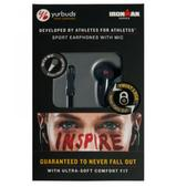 YURBUDS Ironman Inspire Headphones +1 Button Mic