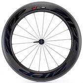 Zipp 808 Firecrest Tubular Black Front Bicycle Wheel Size 700c