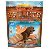 ZUKES Z-FILETS GRILLED BEEF 3.25 OZ