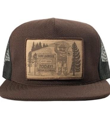 22105f1f074b0f HippyTree Smokey Trucker Hat- Brown   ActiveBacker.com