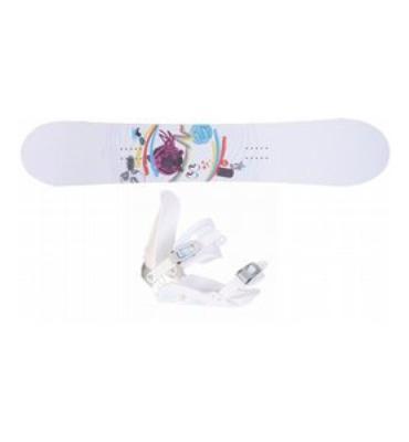77ea5bae75b6 Santa Cruz Suave Eyes Board   Binding Package Ski   Snowboard - Snowboard  Packages